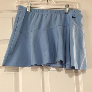 Light Blue Nike Dry Fit Tennis Skirt